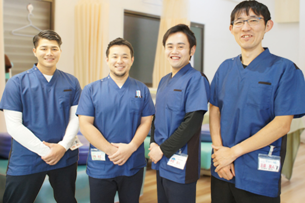 馬込鍼灸整骨院のスタッフたちです♪